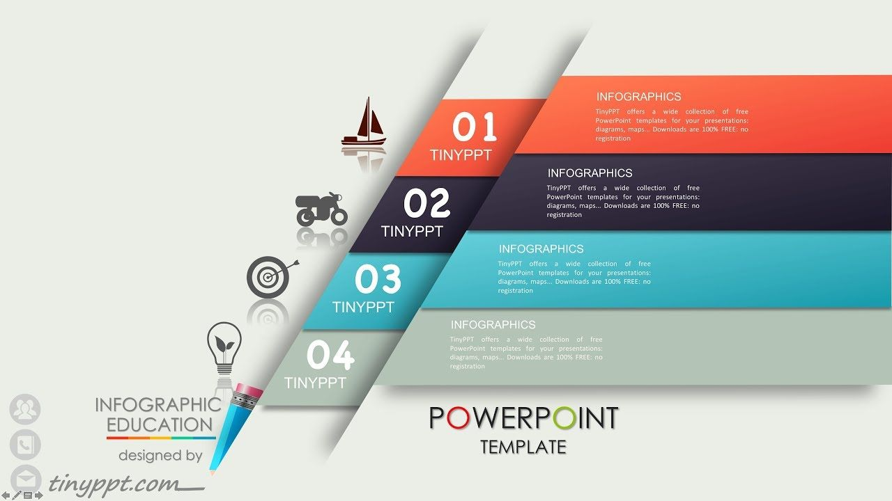 professional powerpoint templates free download infographic