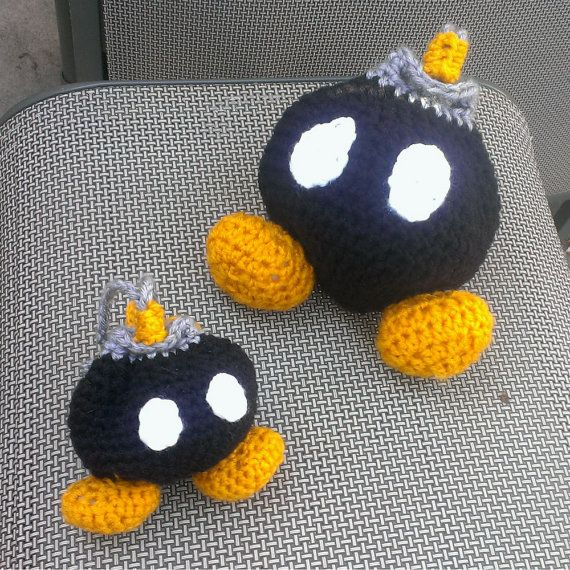 Super Mario Bros Bob-omb Dice Bag - Bomb Drawstring Bag