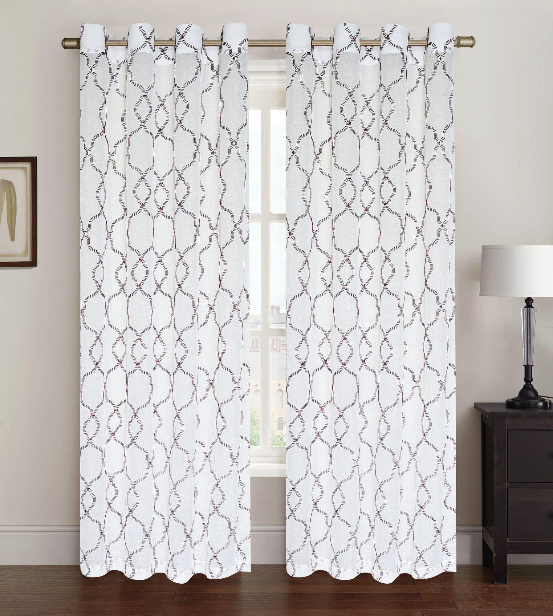Sadie Curtain Single Panel Panel Curtains Curtains Drapes Curtains