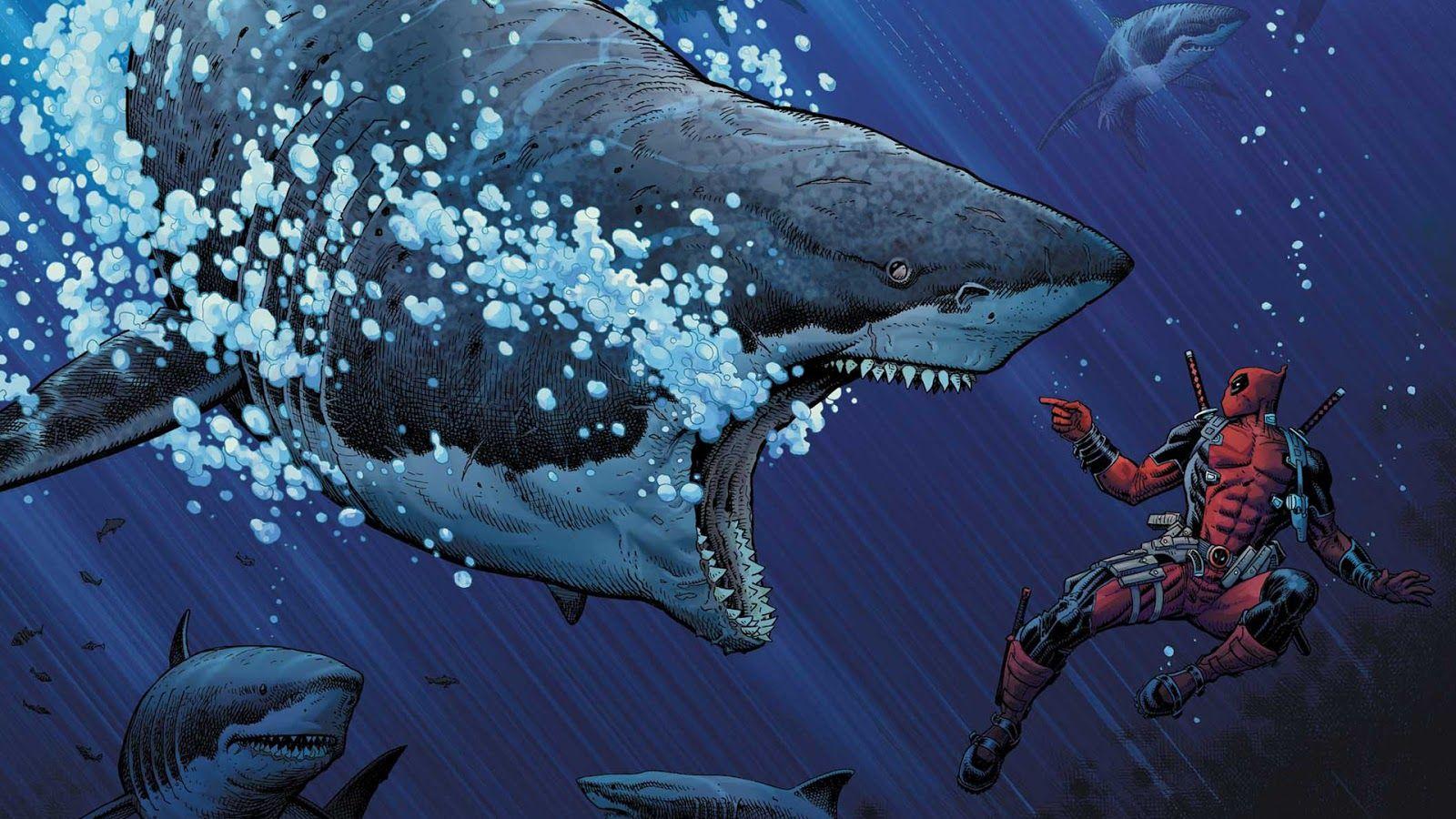 Deadpool - Comic Wallpaper.jpg (1600×900)