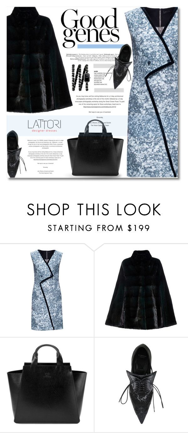 """""""LATTORI Dress"""" by defivirda ❤ liked on Polyvore featuring Lattori, Lilly e Violetta, Under My Roof, Givenchy, Chanel, dress, dresses, polyvoreeditorial and lattori"""