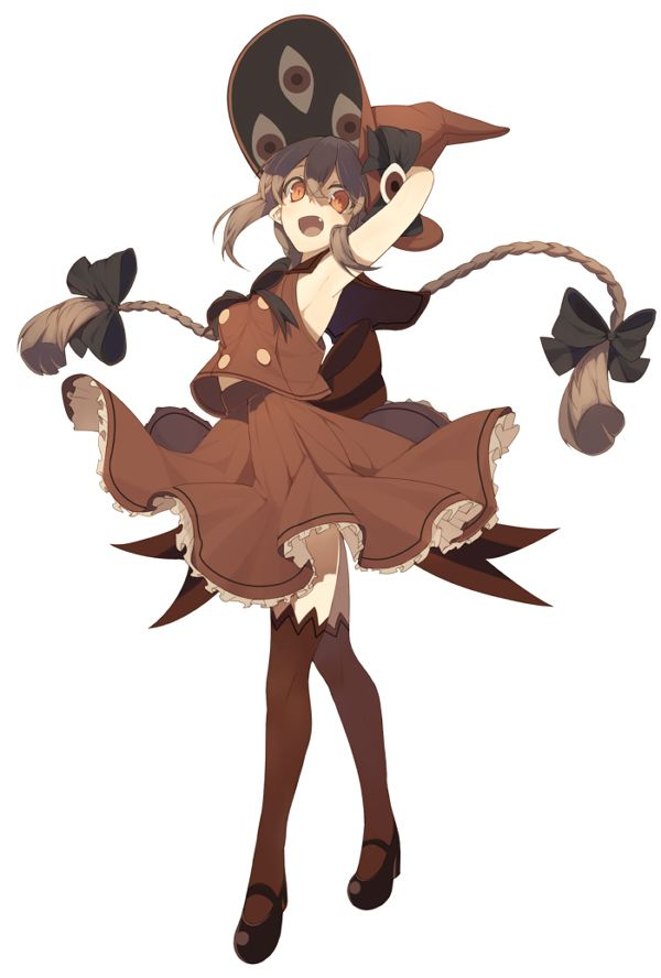 impactful anime girl witch outfit 13