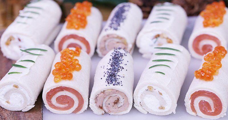 Recette bûchettes au saumon, foie gras ou fromage de chèvre