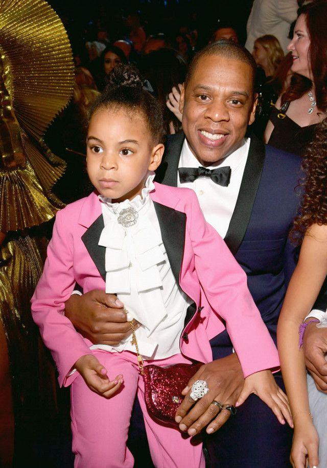 e417471a On Blue Ivy Knowles: Gucci Children's Jacket With Embroideries ($765) and  Children's Stretch Twill Pants ($335).