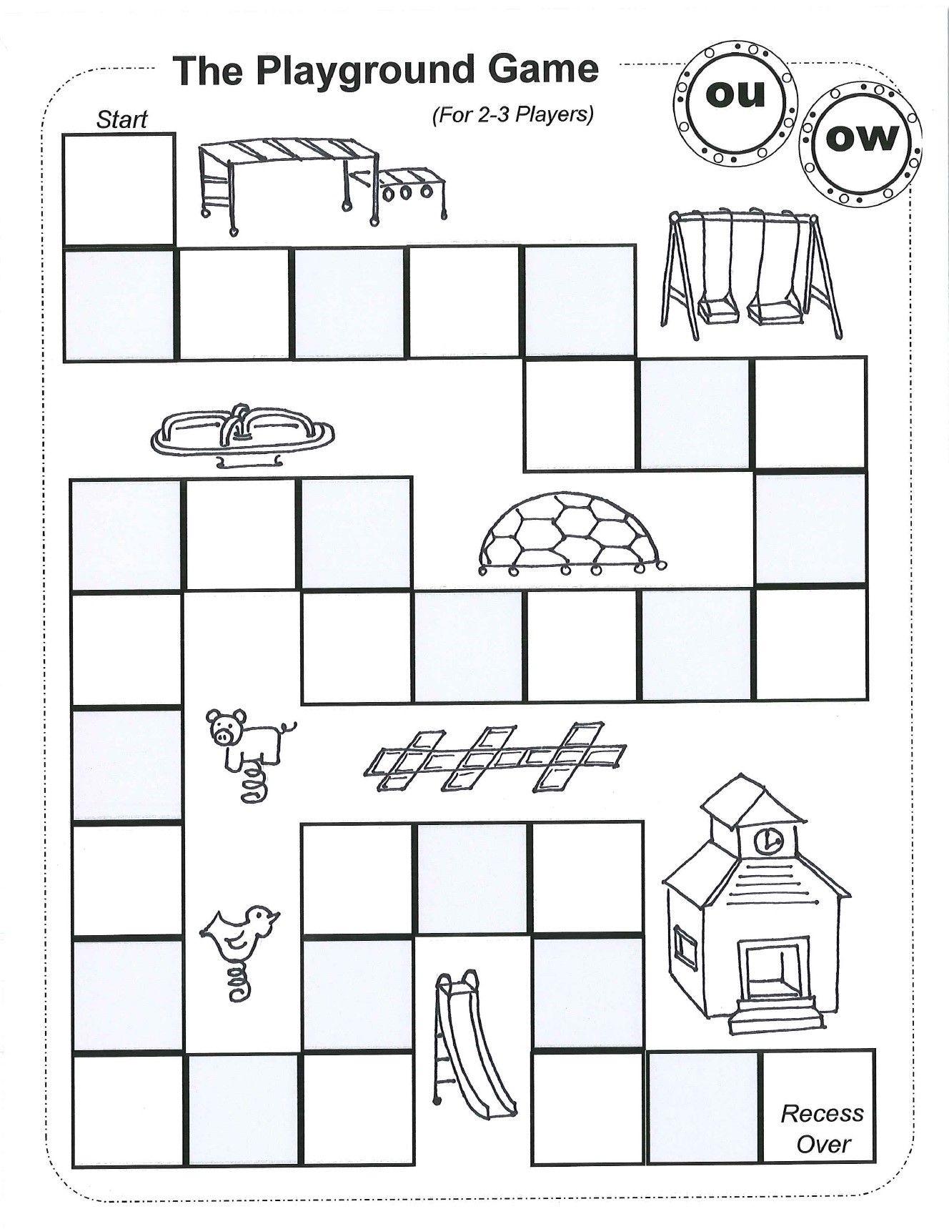 Vowel Diphthongs Original Poems Worksheets And Game Boards Diphthongs Vowel Diphthongs Diphthong Words