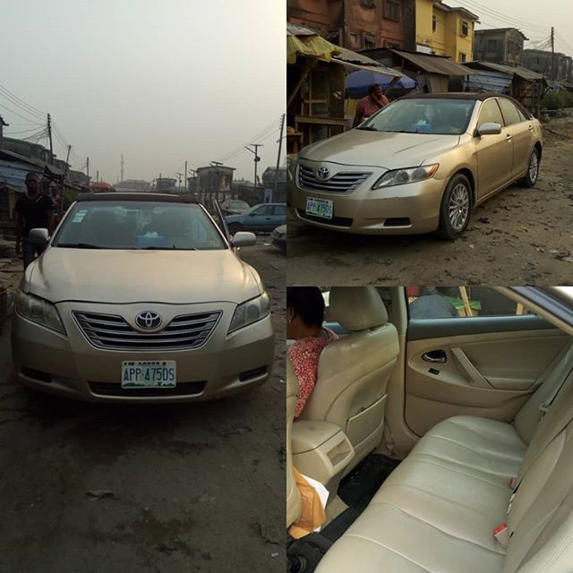 Sometimes we don't need to provide the most expensive gifts to show we care. Why not buy this car for your loved one this valentine to let him/her know that you really care. It is better than giving them transport fare to jump in and out of commuter buses everyday!  Toyota Camry LE(2008) Special Edition. Very clean body and interior. No repairs required. Start and drive. First body. Engine in percent condition. To know more pls contact:  Innov8brands 08051321700(WhatsApp) 07031832369…