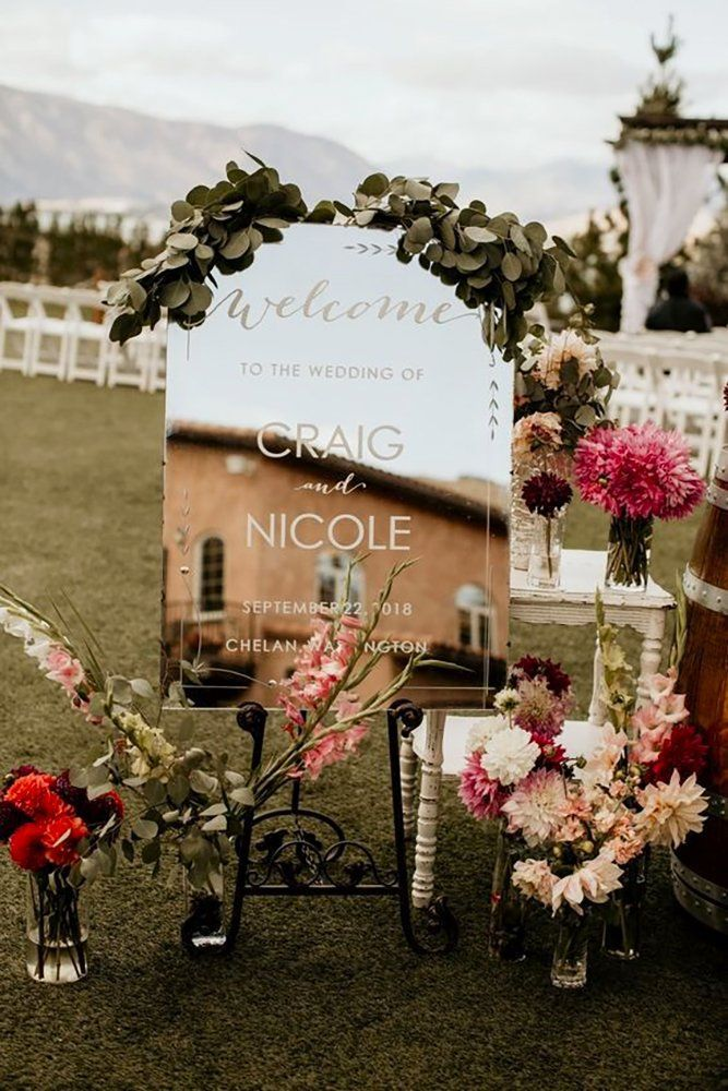 42 Fabulous Mirror Wedding Ideas | Wedding Forward