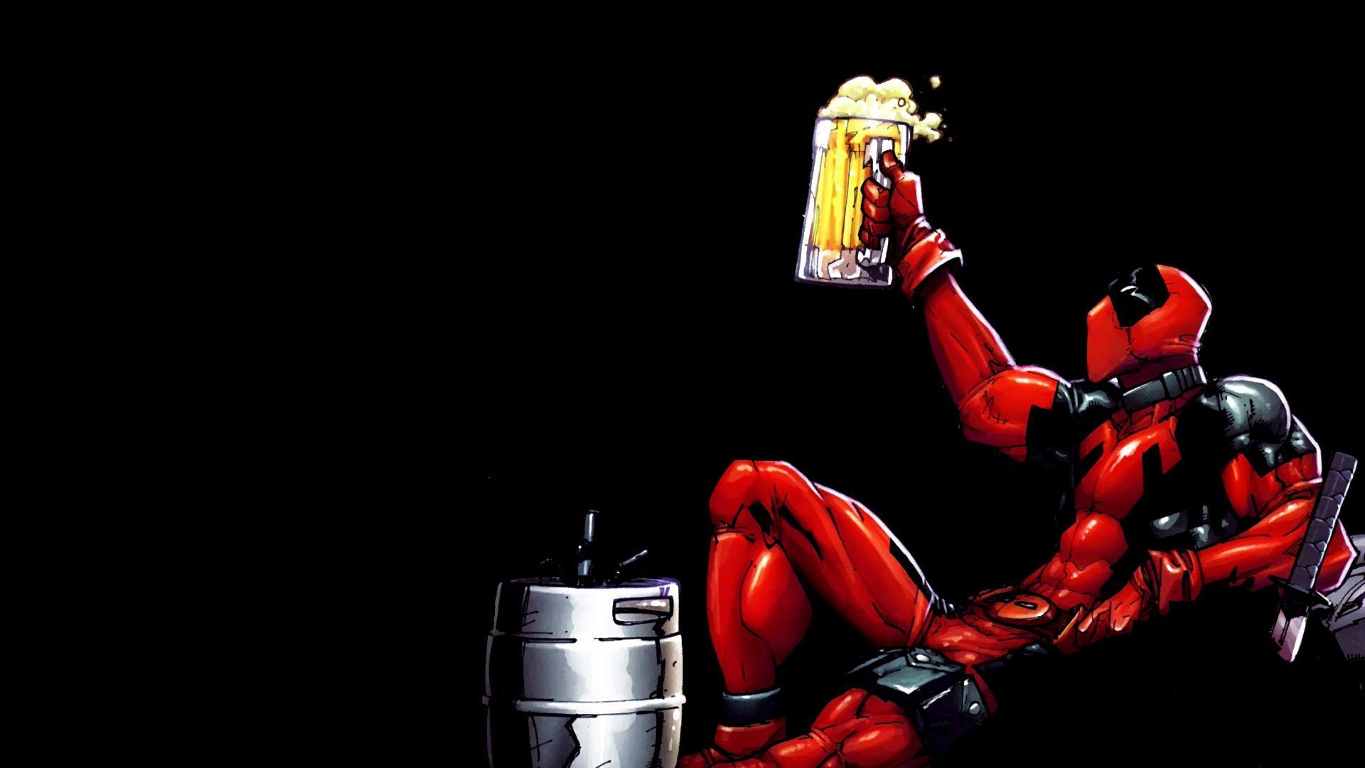 1000 Ideas About Deadpool Hd Wallpaper On Pinterest: Funny Deadpool Wallpaper 1920x1080 Pixel
