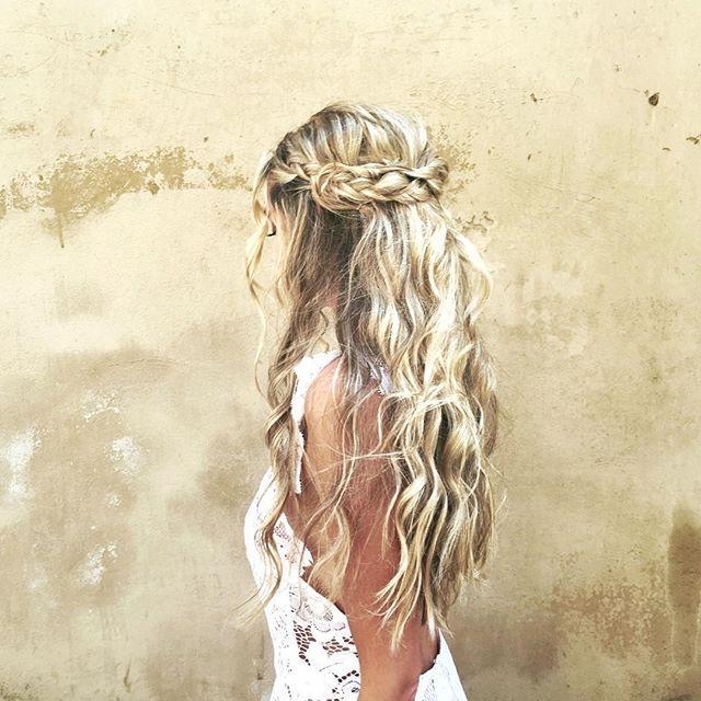 pinterest / lvlyrvttvr beauty Boho wedding hair