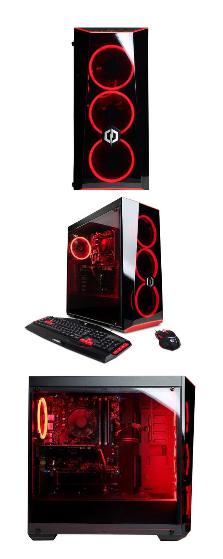 CYBERPOWERPC Gamer Xtreme GXIVR8020A5 Desktop Gaming PC (Intel i5