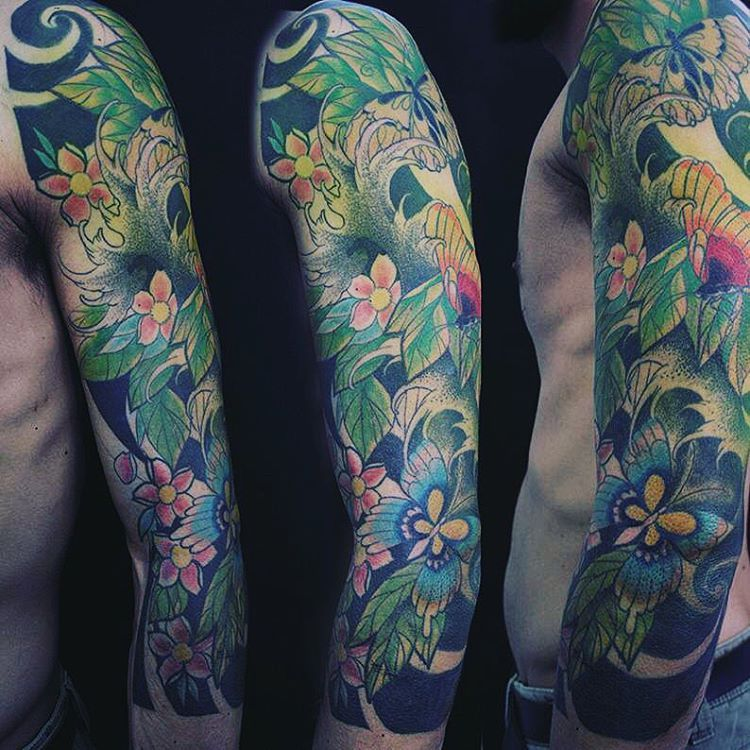 Japanese Flowers Tattoo Names and Their Meanings