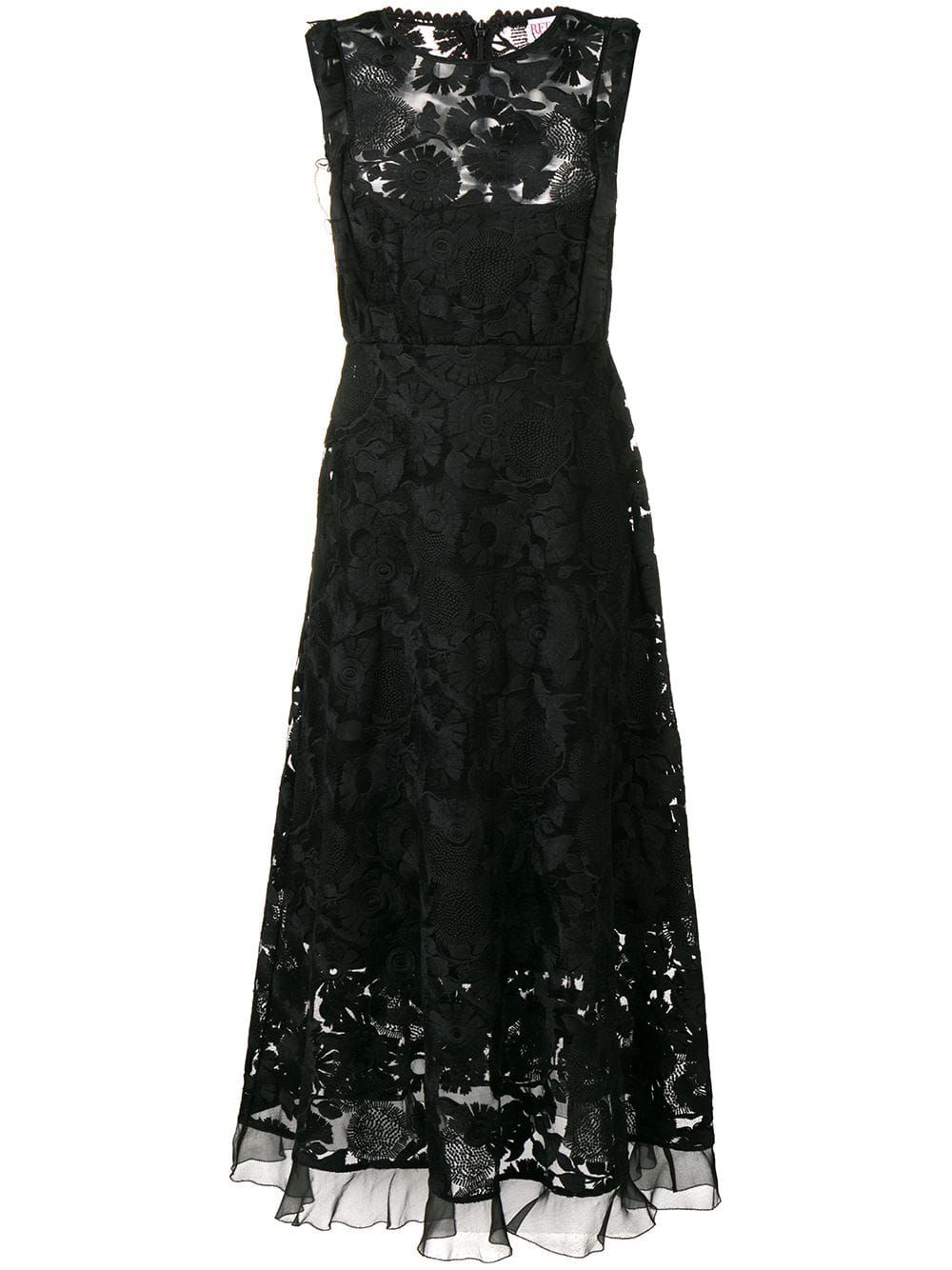 Red Valentino Lace Midi Dress Black Products In 2019