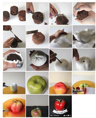 How to sculpt apple blossom shopkin topper using fondant youtube.