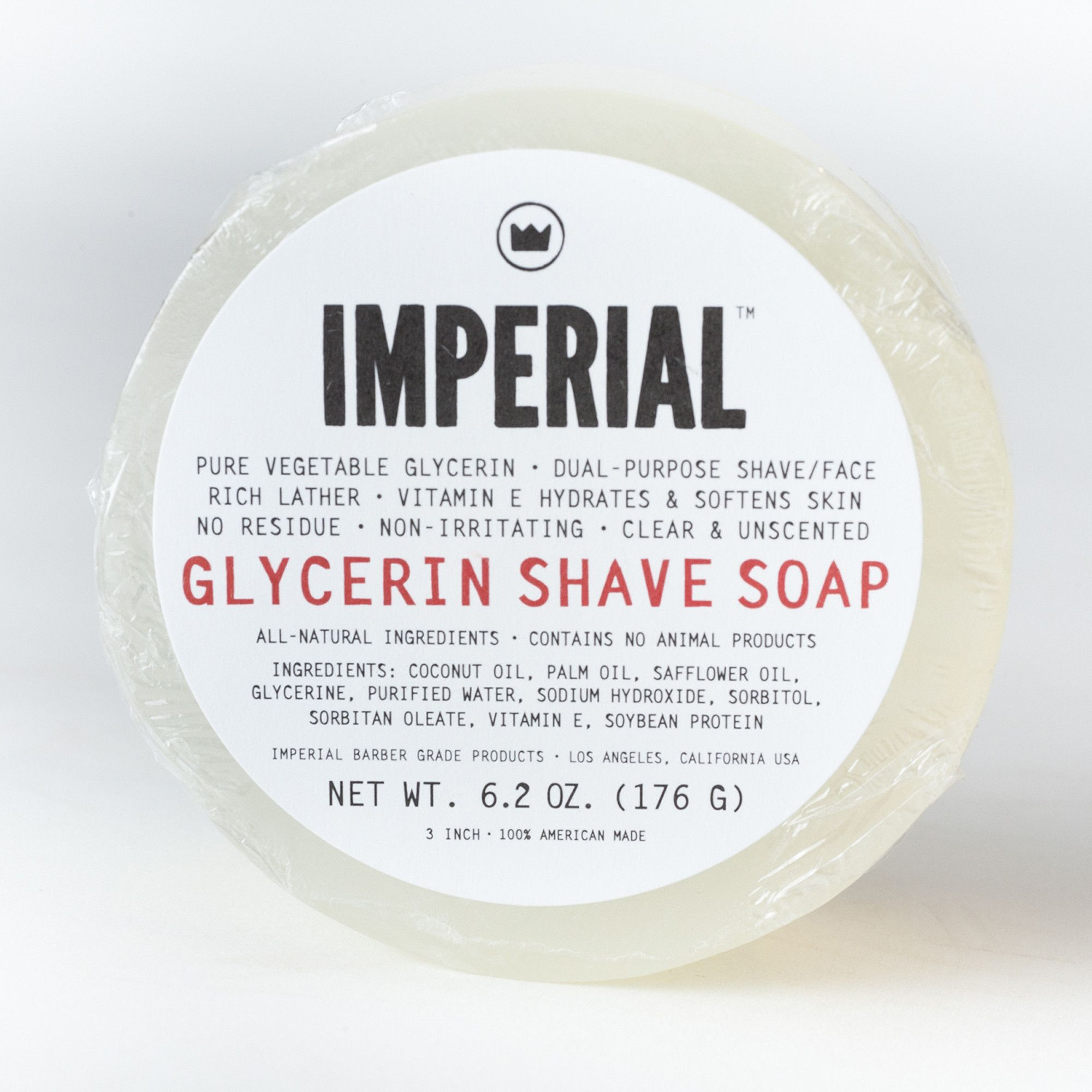 Imperial Barber Shave Soap | Clean & Clad