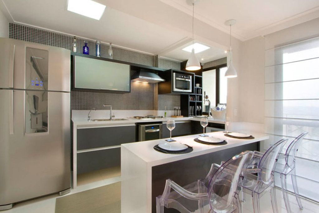 cocinas barra americana #cocinaspequeñasconbarra cocina - cocinas con barra