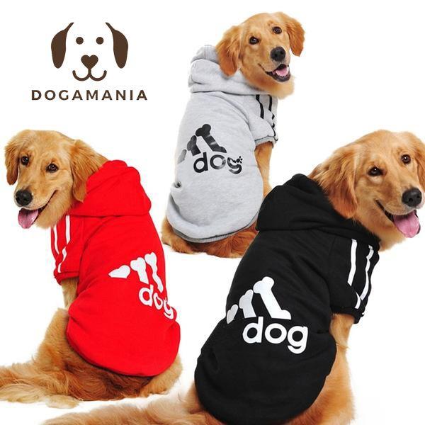 Dog Hoodie Adidog Large Dog Clothes Big Dogs