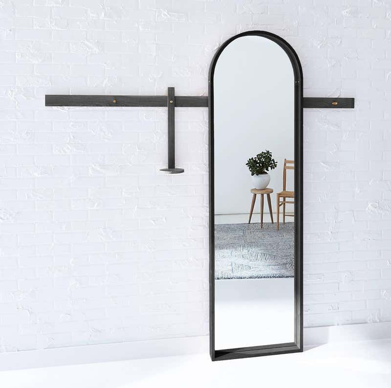 Full-Length Arched Mirror by Coolican and Company