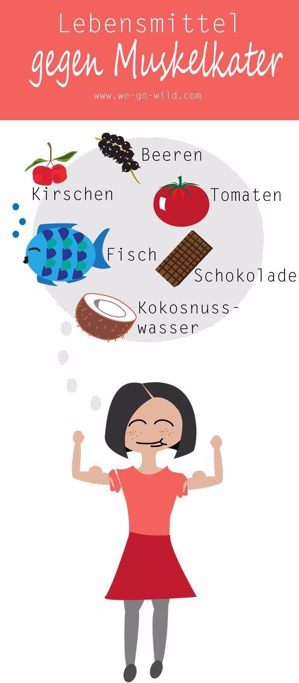 Muskelschmerzen nach dem Training müssen nicht sein. Diese Lebensmittel gegen Muskelkater helfen zuv...