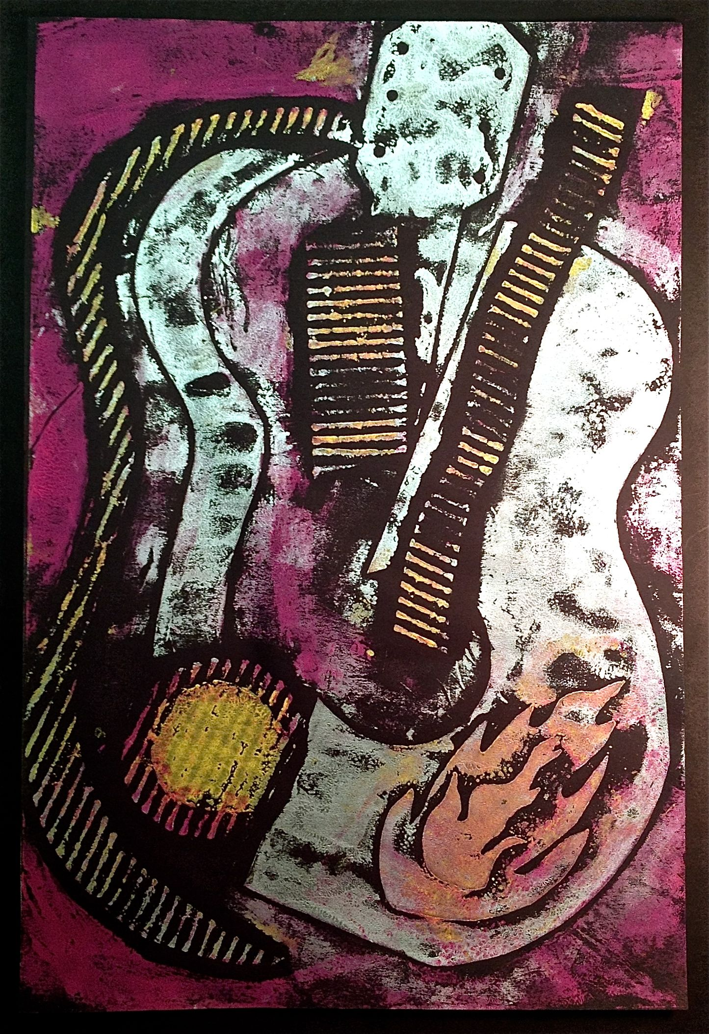 Image gallery collagraph prints for Print from pinterest
