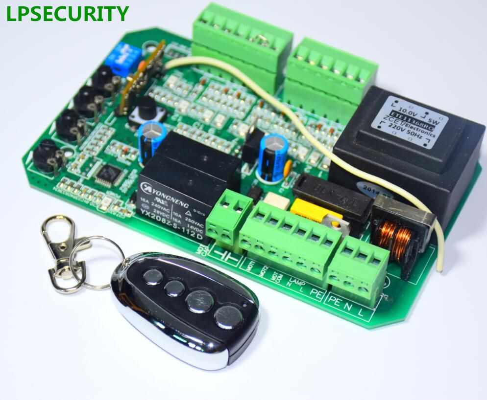 Lpsecurity Sliding Gate Opener Motor Pcb Controller Circuit For Aleko Ac2400 Wiring Diagram Control Unit Board Electronic Card Py600acl Sl1500ac Py800ac