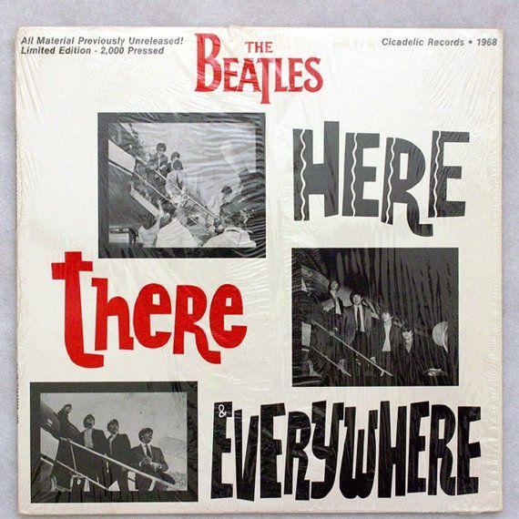 1987 The Beatles Here There Everywhere Vinyl Album