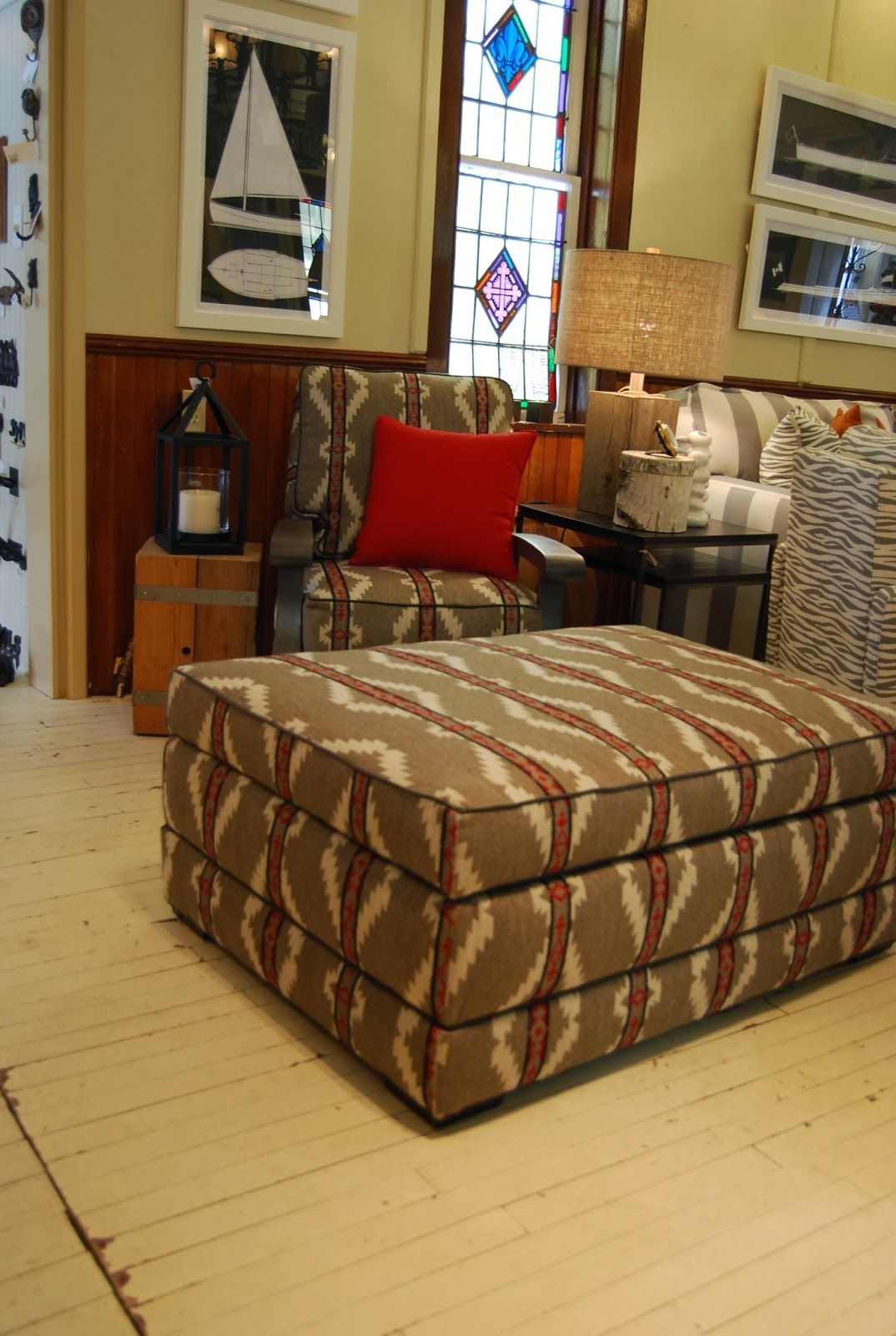 Lee Industries New Ottoman Converts To A Bed