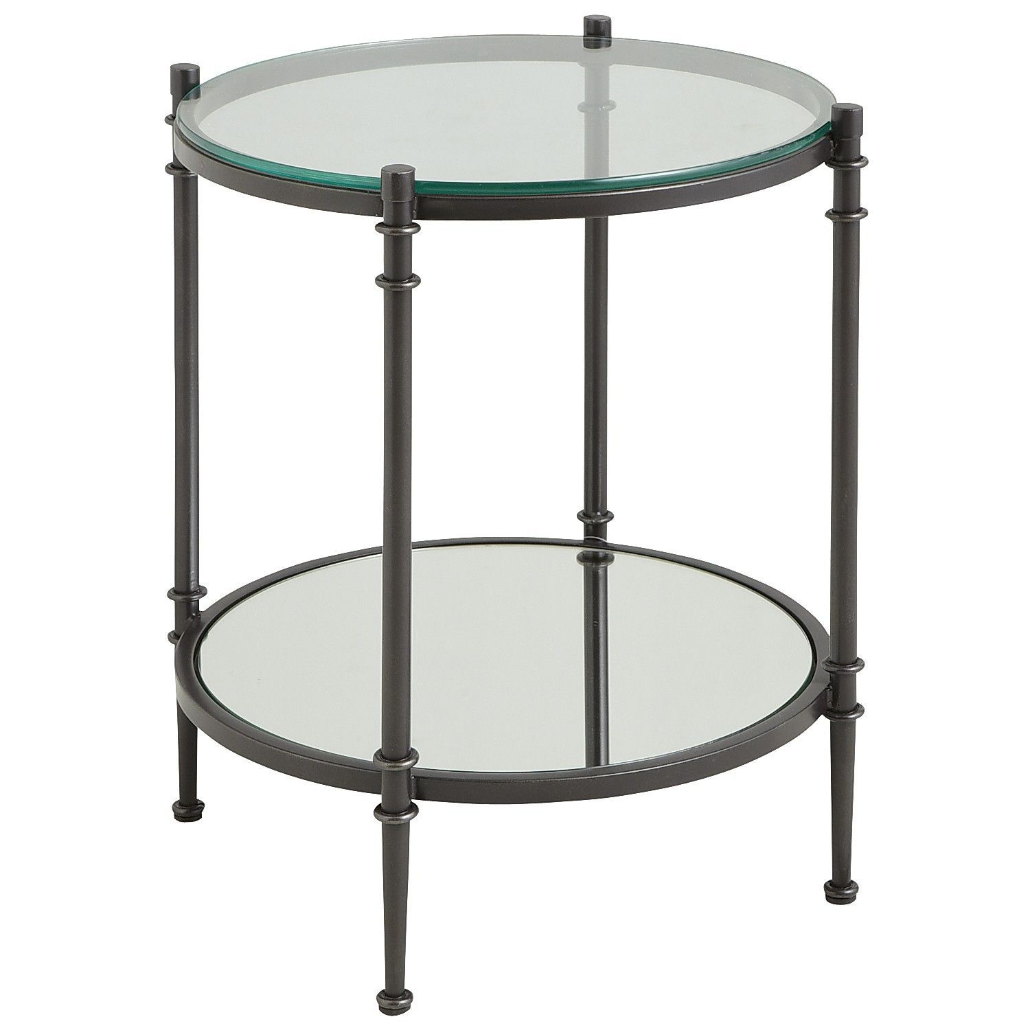 Clara End Table Gunmetal End Tables Coffee Table Table