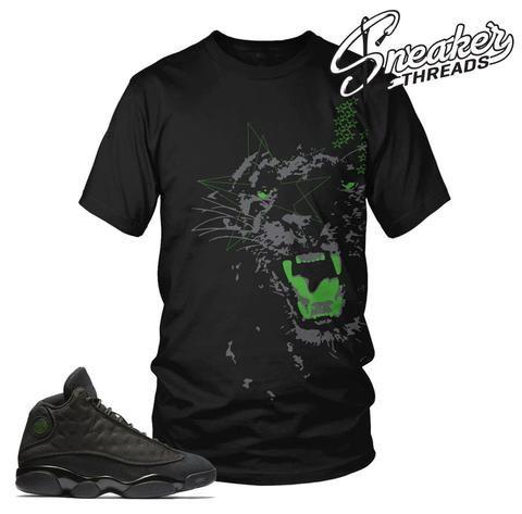 7ef6c19b3cb8 ... Crewneck Sweater 11 best Jordan 13 Black Cat Sneaker Match Tees Shirts  images on Pinterest All black
