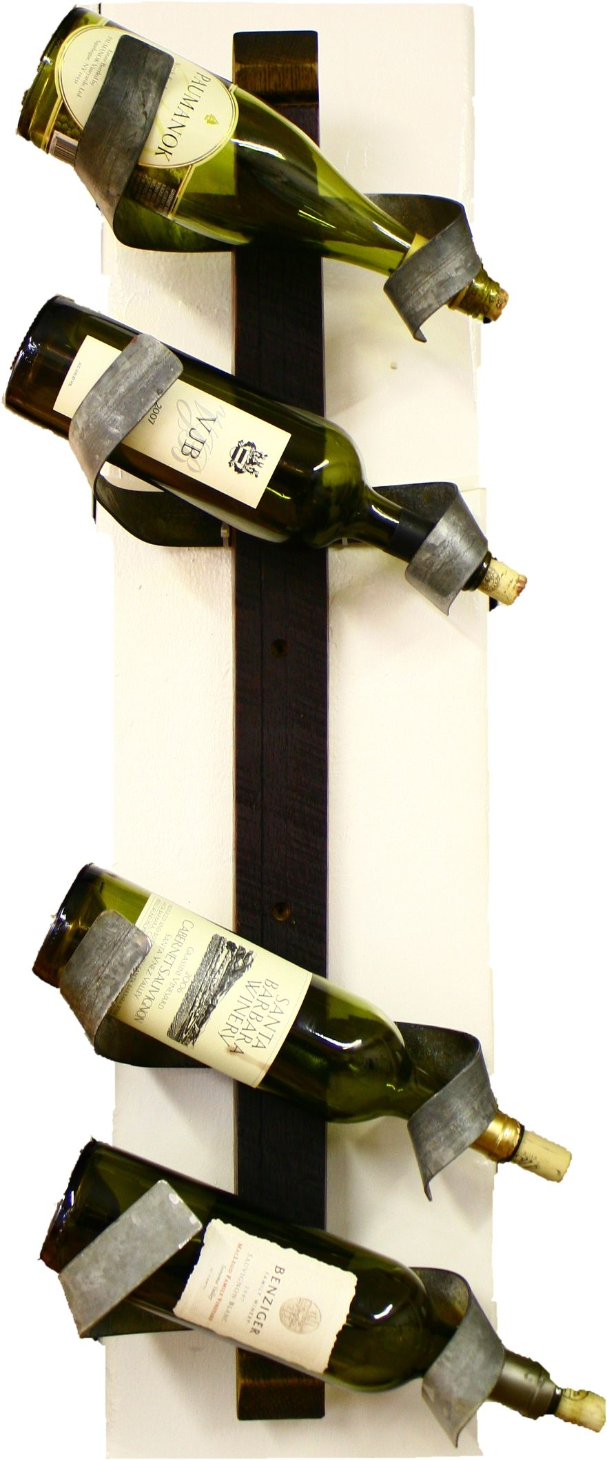 locally made wine barrel accessories - including wine bottle holders ...