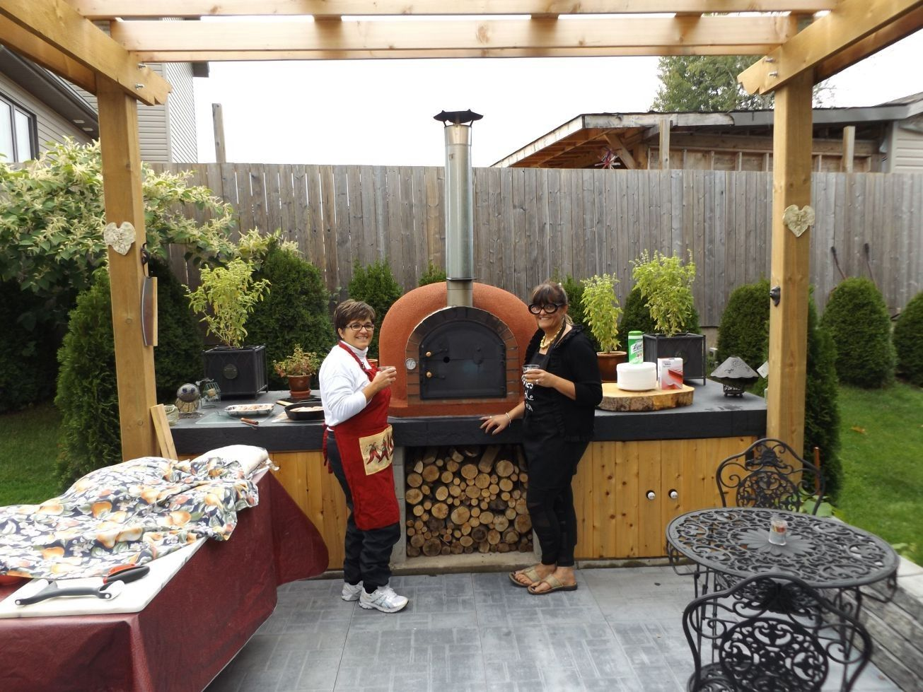 Outdoor Küche Holzofen : Pin von concetta cuozzo auf giardino outdoor küche