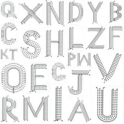 la casa de Coto: [DIY]. . . alfabeto crochet | 鑰匙 包包 吊飾 4 鉤針 ...