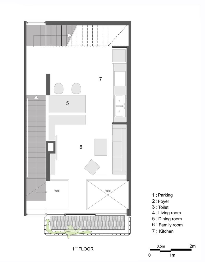 Gallery Of Q10 House Studio8 Vietnam 20 House Plans Small Floor Plans House