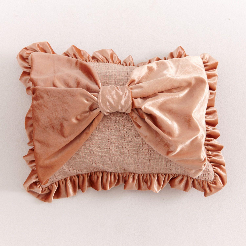 Velvet pillow shamblush pillow coversilk velvet by cloudhunterco