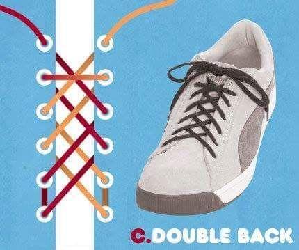 Macam Macam Gaya Ikat Tali Kasut Untuk Tambah Style Kasut 15