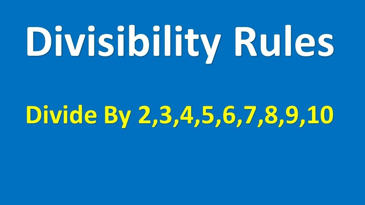 Pin By Tabletclass Com On Math Tips Divisibility Rules Math Tricks Math Courses [ 720 x 1280 Pixel ]