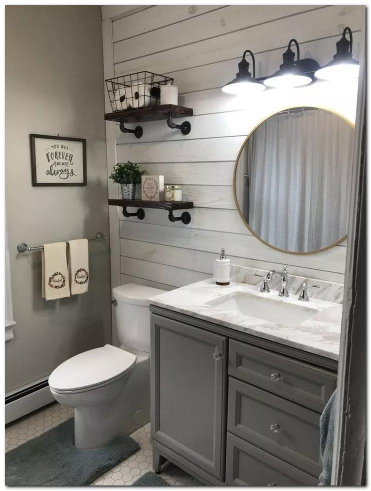 37 Small Bathroom Decor Ideas On A Budget Bathroomdecor Bathroomideas Bathroomdesign Home And Farmhouse Bathroom Decor Bathroom Decor Small Bathroom Decor