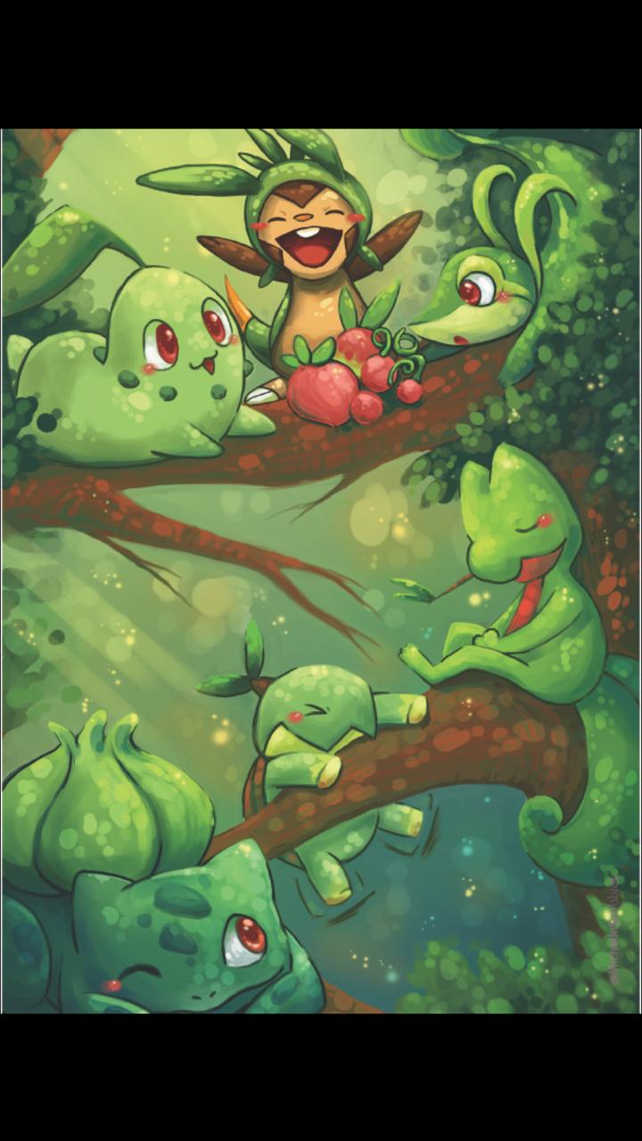 Grass Starters Pokemon CWBT
