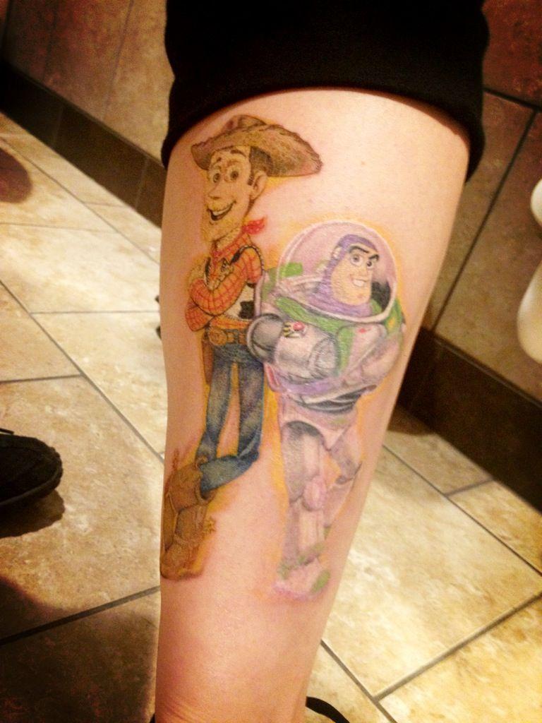 Tattoo buzz toystory ) Geek tattoo, Tattoos, Disney