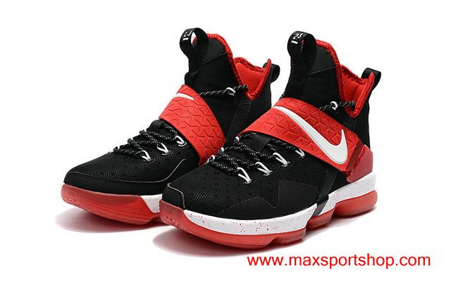 lebron 14 red and black