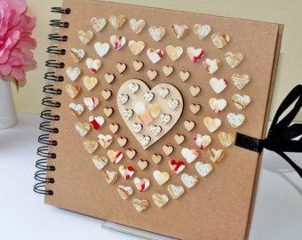 8 X De Madera Boda Amor Cut Outs Adornos Artesanales cardmaking Scrapbooking