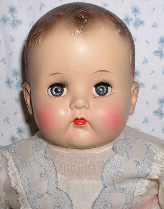 Ideal Baby Dolls Details About 18 Quot Ideal Plassie Baby