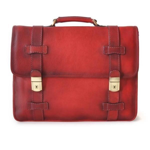 Кожаная сумка для ноутбука Pratesi Vallombrosa-500-8  красная 699,00 €