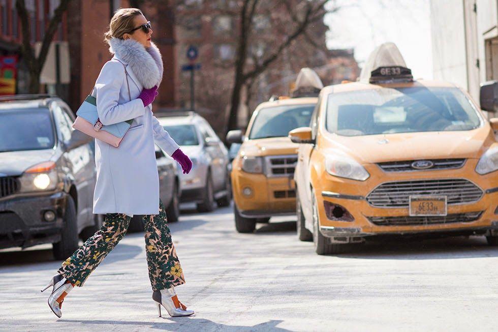 Aga's suitcase: Street style New York Fashion Week 2015 - part 2 #streetstyle #nyfw #nyfw15