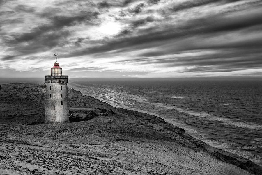 Light house, Rubjerg Knude by Michael Beck, via 500px
