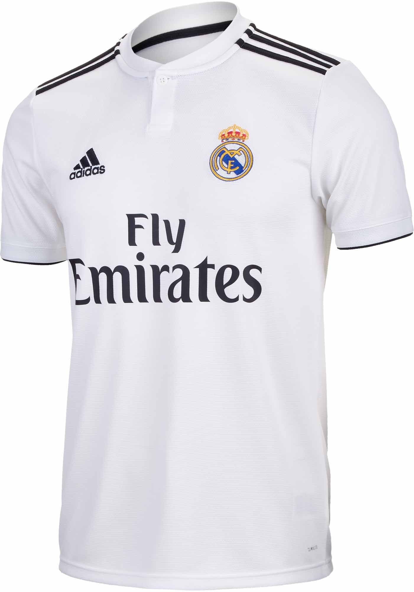 2018 19 adidas Real Madrid Home Jersey. Buy this at soccerpro.com 352e4530b
