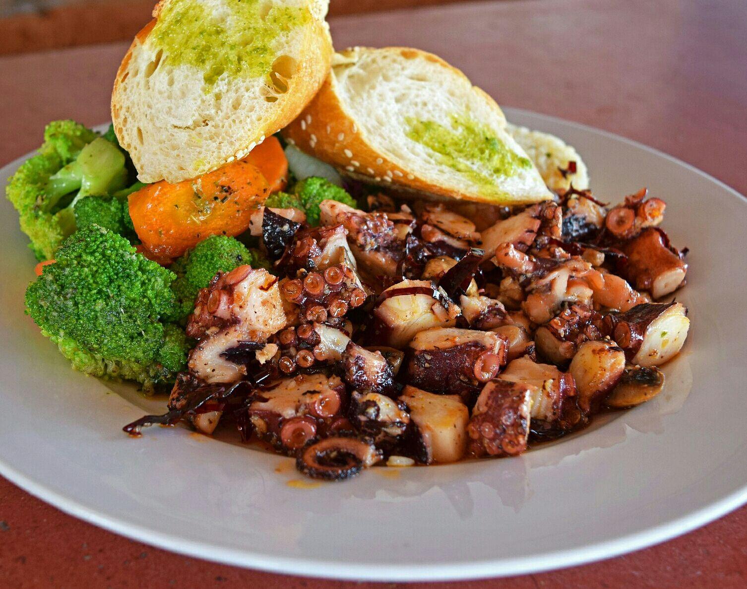 Spicy Black Pepper Octopus Recipe Resep Gurita Merica Memasak