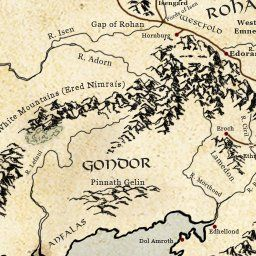Interactive Map Of Middle Earth The Lotrproject Has An