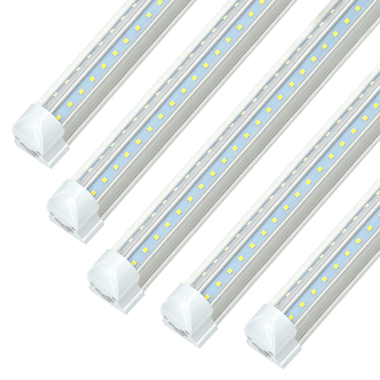 8ft Led Shop Light Fixtures Jesled 8 Foot Led Cooler Light