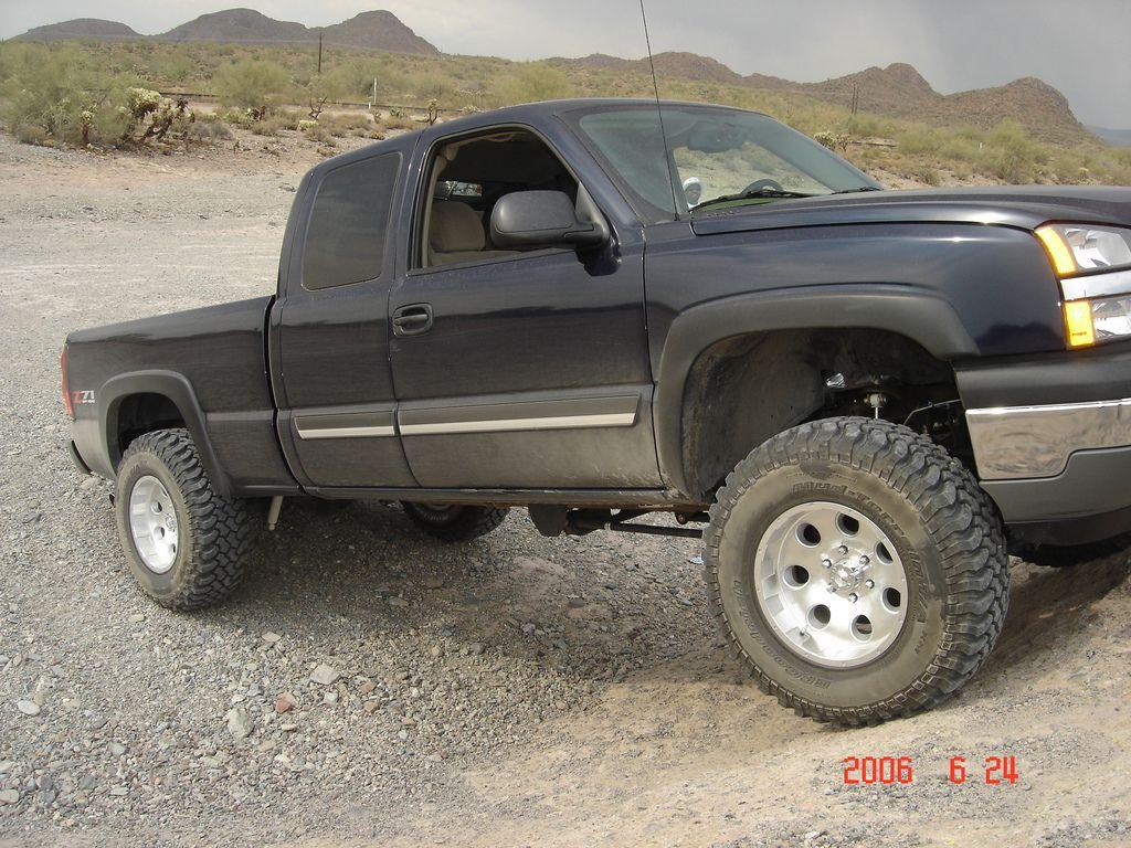 All Chevy 2002 chevy 1500 lifted : 2005-Chevy-Silverado-1500-z71-pickup | Chevrolet Lifted Trucks ...