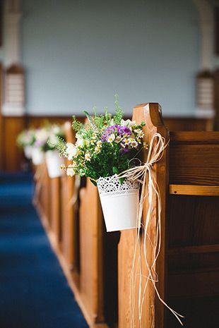 Kirchendekoration Gangdekoration Hochzeitsdekoration